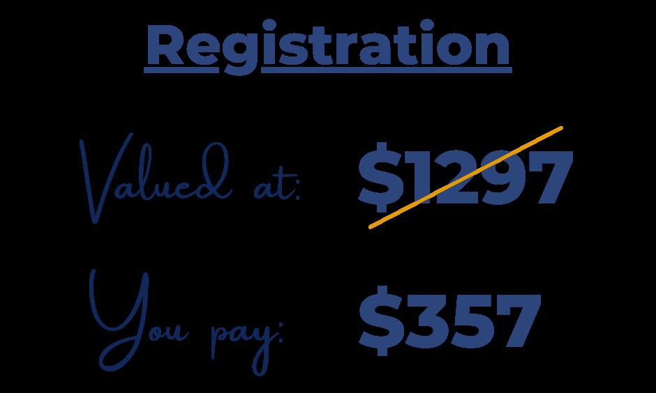 Registration Price