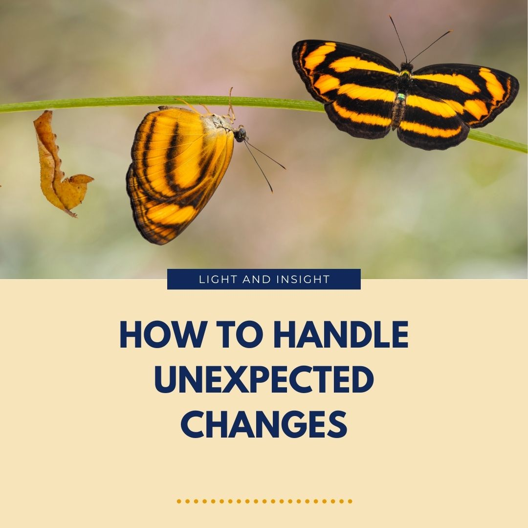 How to Handle Unexpected Changes Article
